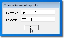 Setting up a OpenVPN on Windows 7 - Part 18 - Enter Username and Password